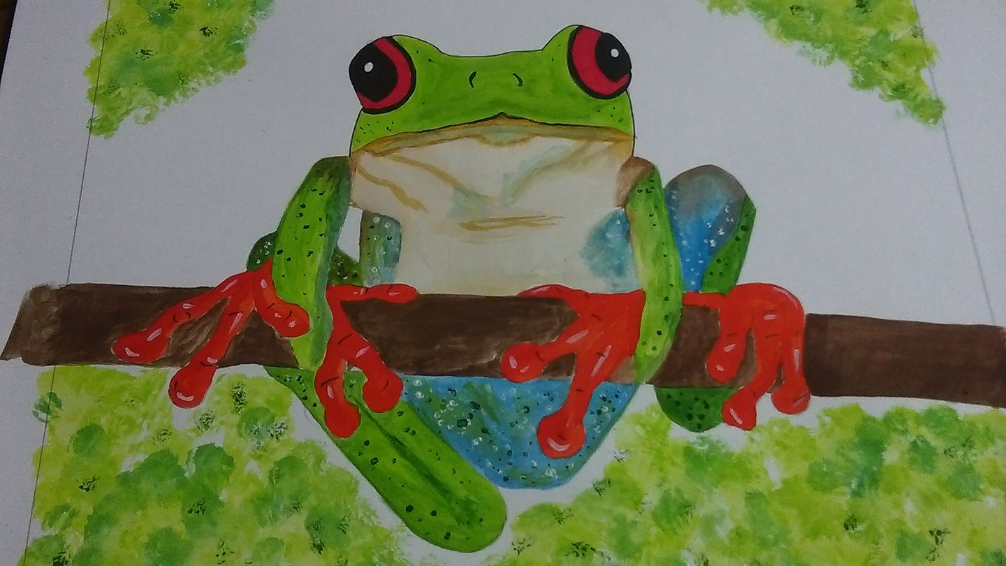 Tree Frog Annie Appleby